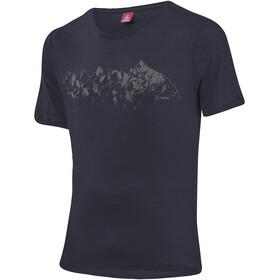 Löffler Merino CF Printshirt Men, graphite
